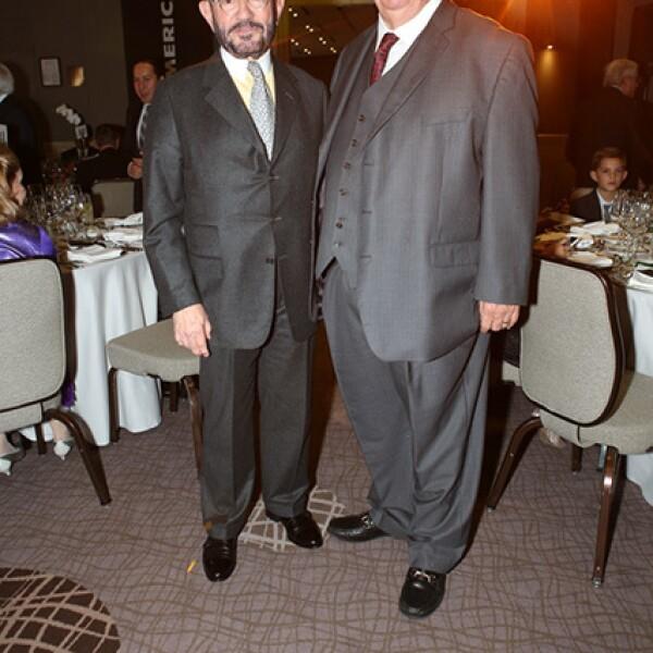 Miguel Jauregui y Alfredo López Mestre
