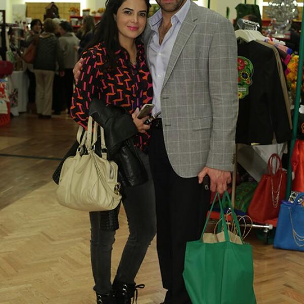 Stella Velasco y Jorge Alum