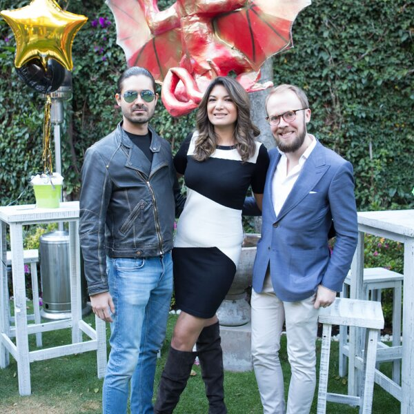 Cumpleaños Ale Riquelme, Rodrigo Sámano y Evgeny Pervago