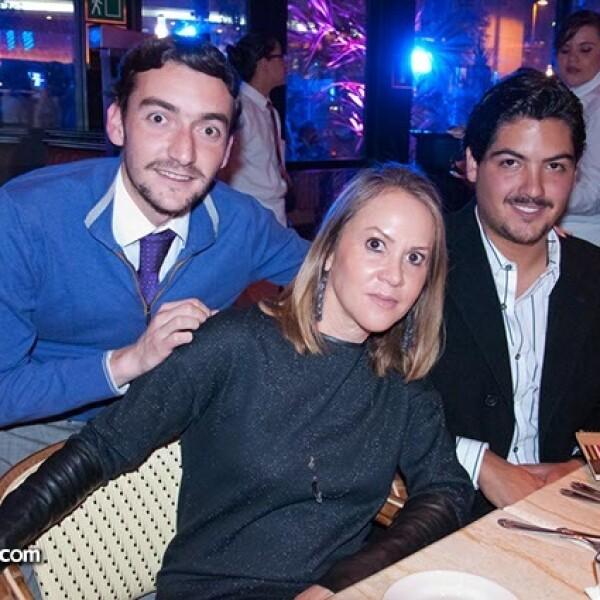 Eduardo Gamio, José Miguel Madrazo e Hilda Gosselin