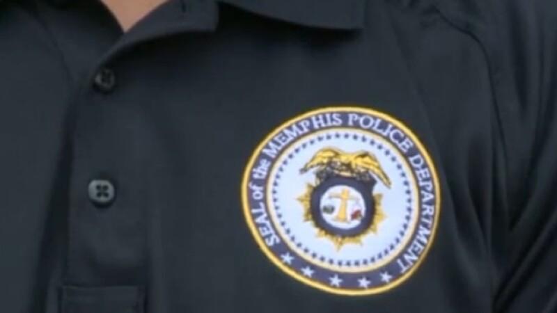 Emblema del Departamento de Policía de Memphis, Tennessee; más de 300 oficiales se han reportado enfermos desde el 30 de junio