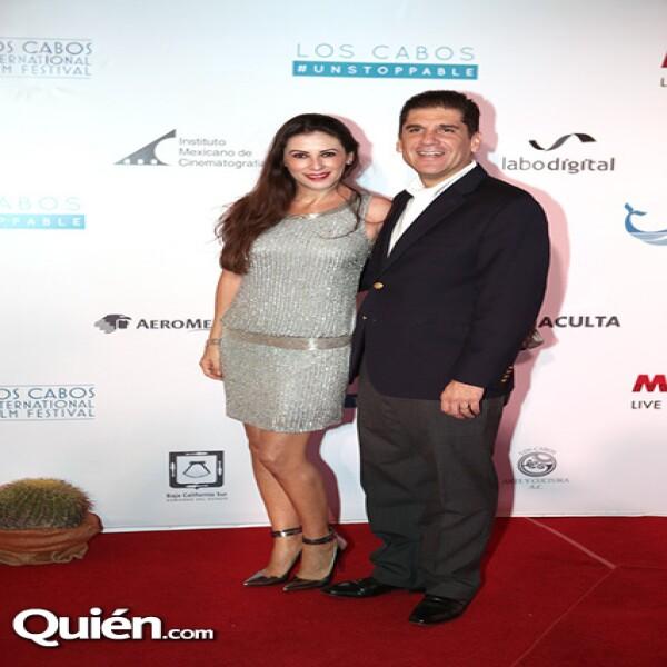 Paola y Rubén Reachi