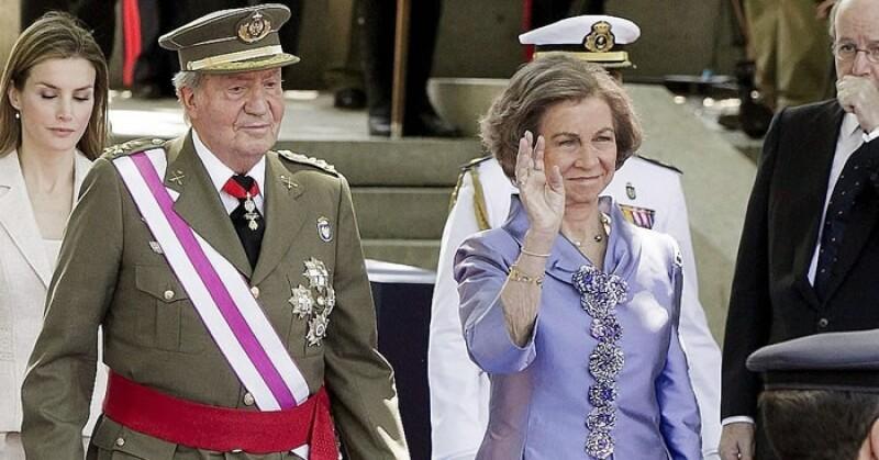 reyes Juan Carlos I y Sofia