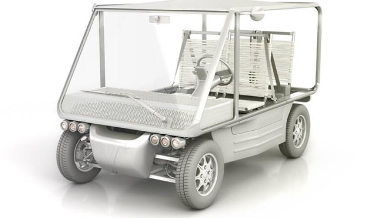 Su transmisión es de tracción delantera con caja de cambios diferencial; tiene frenos de cuatro discos.