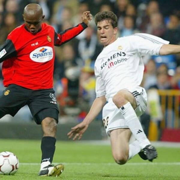 Samuel Eto'o juega para el club Mallorca