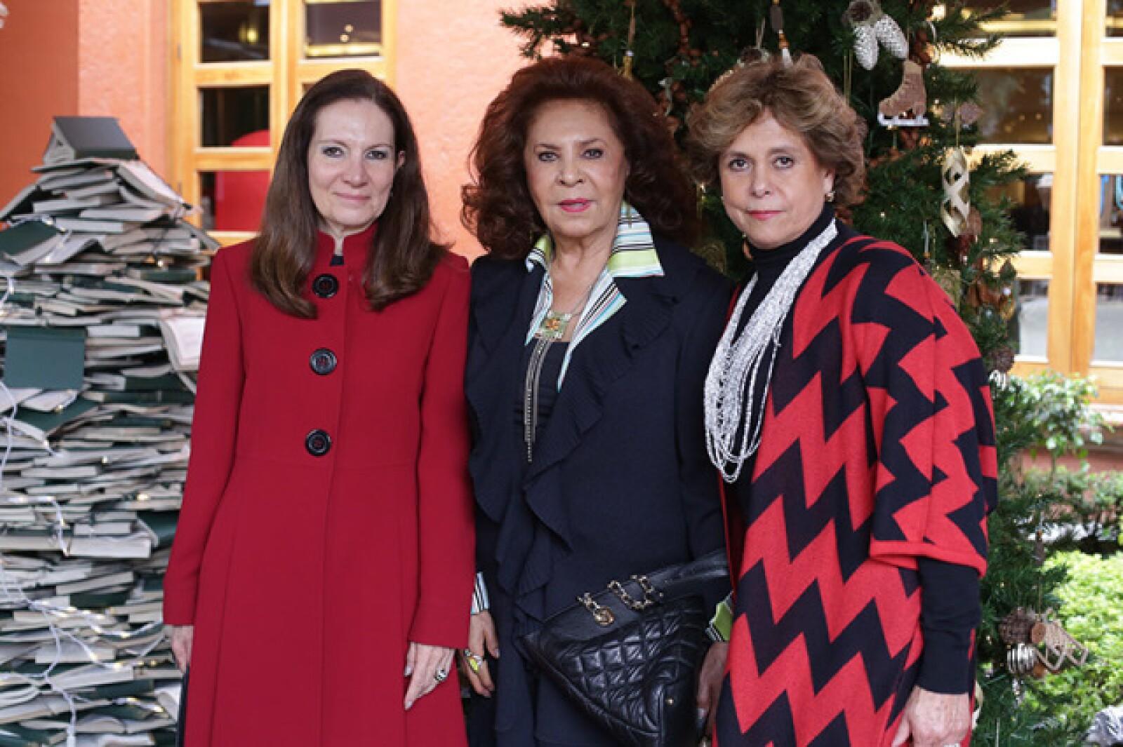 Nely Quezada,Maite Soberanes y Marce Girald