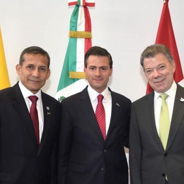 Enrique Peña en Cumbre de las Américas