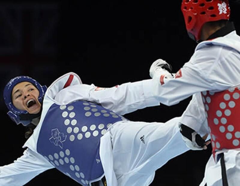La taekwondoín mexicana, que hace cuatro años ganó el oro olímpico, consiguió este sábado la medalla de bronce.