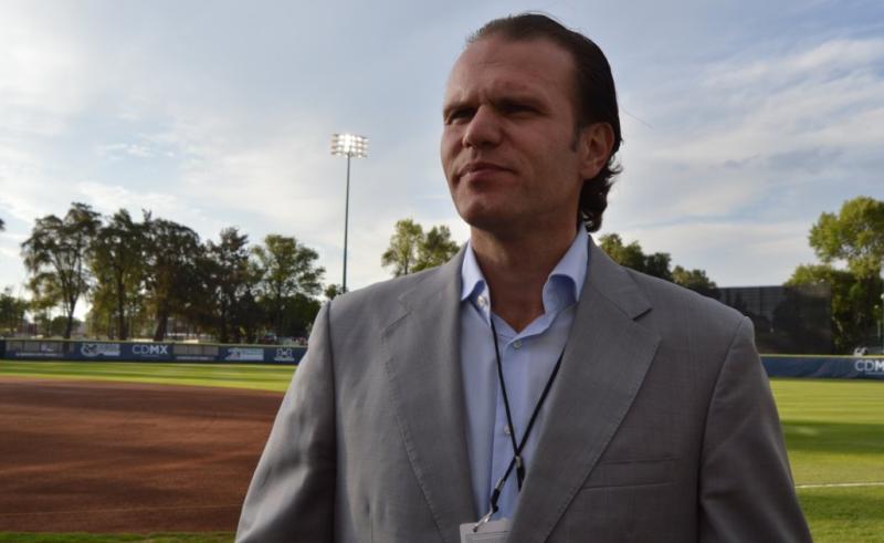 Rodrigo Fernández, director de la oficina de MLB en México.