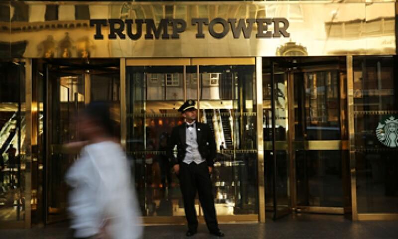 El ataque afectó a varios hoteles Trump, incluido el Trump International Hotel and Tower en Nueva York (Foto: Getty Images/Archivo )