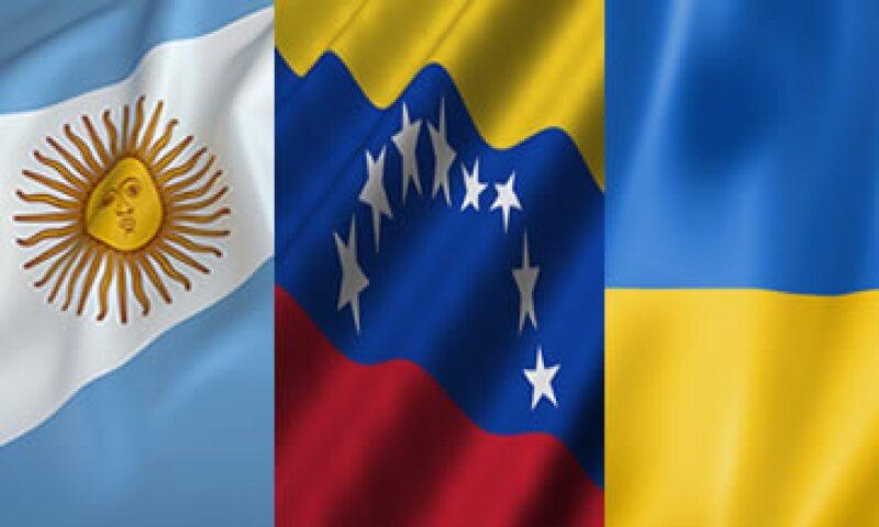 Argentina, Venezuela y Ucrania representaron el 65% del avance de JP Morgan EMBI Global.  (Foto: Especial)