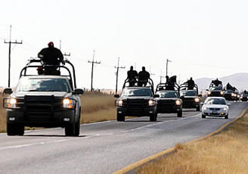 El Gobierno federal ha organizado una serie de operativos en el país para atacar a la delincuencia organizada. (Foto: Notimex)