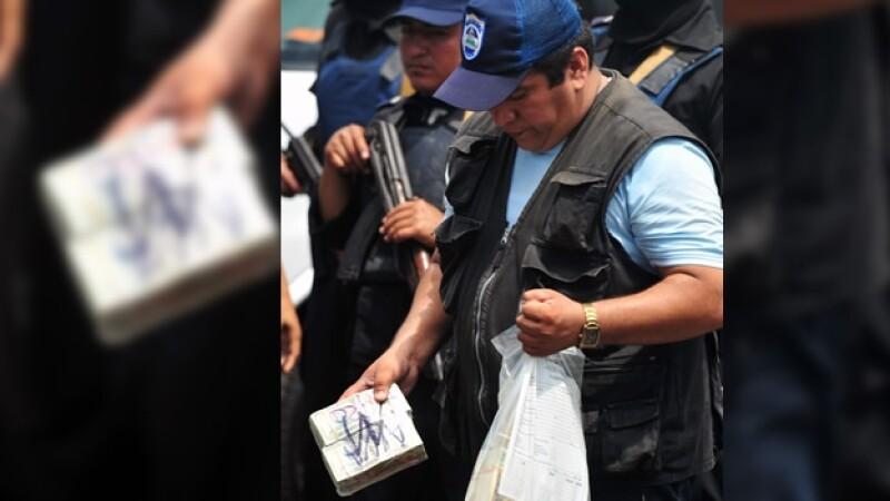 18 mexicanos fueron arrestados en nicaragua, les incautaron al menos 7 millones de dolares