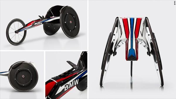 Por el momento la empresa está haciendo solo seis sillas de ruedas para el equipo estadounidense.