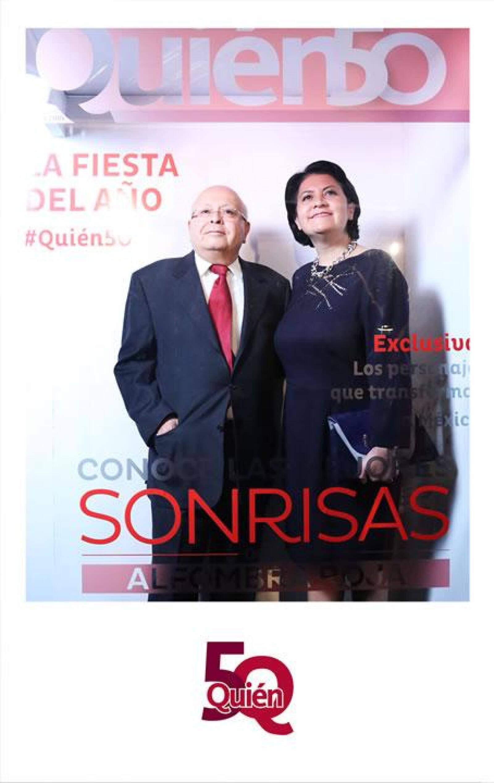 Hilda y Gerardo Estrada