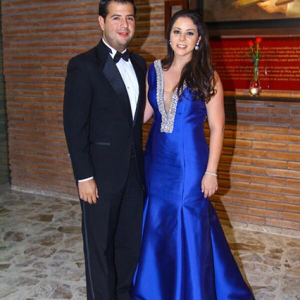 David Villarreal y Mónica Ferrigno