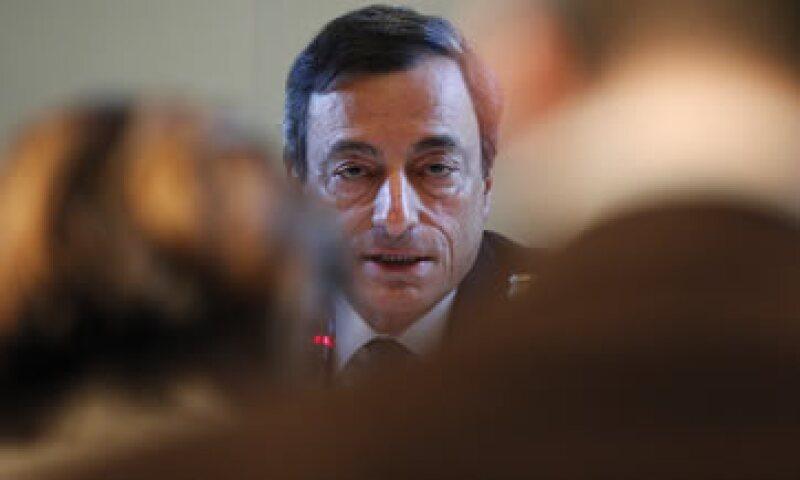 Hay grandes expectativas para el próximo jueves, cuando se reúna el Consejo de Gobierno del BCE dirigido por Draghi, y ahí se verá cuál será su línea. (Foto: Reuters)