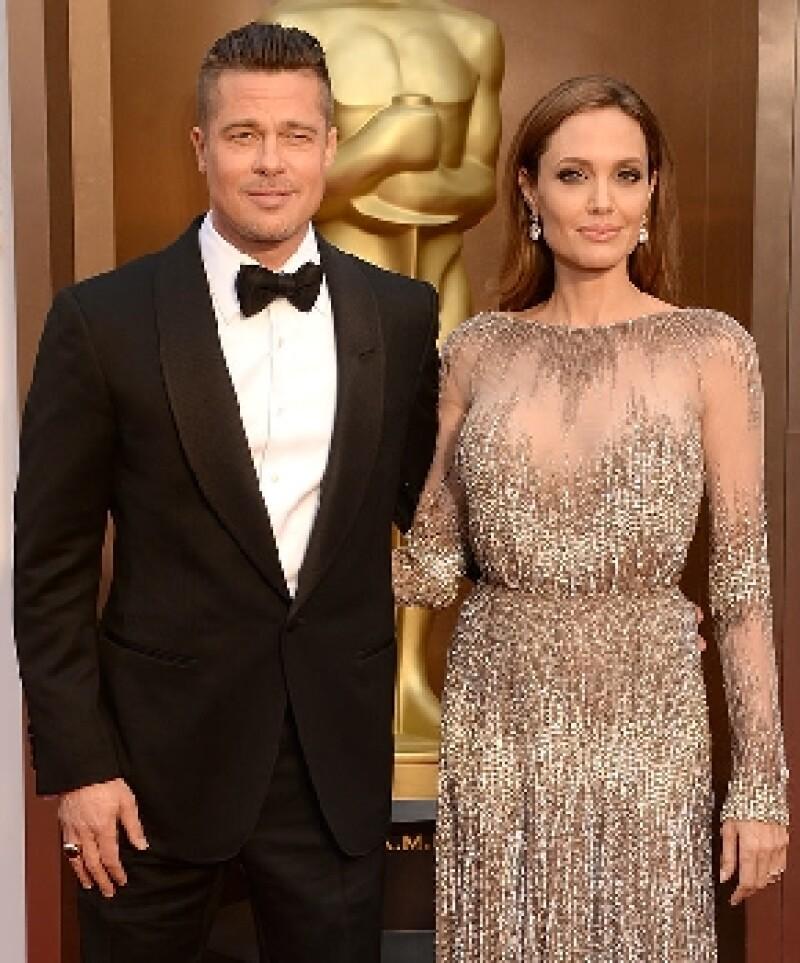 La pareja se enamoró cuando protagonizaron en 2005 la película Sr y Sra Smith.