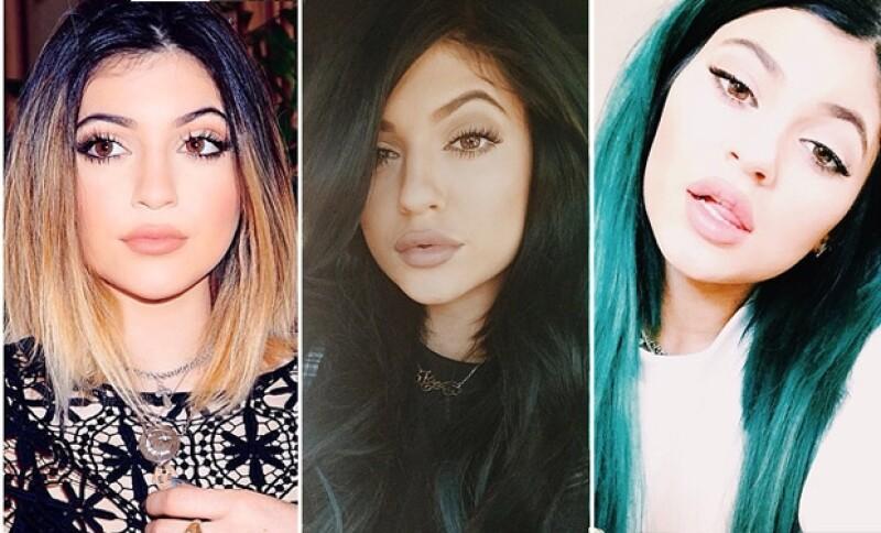 La hermana menor de las Kardashian publicó una foto en su Instagram en la que sus labios lucen más grandes, en entrevistas habló sobre lo que piensa cuando la atacan.