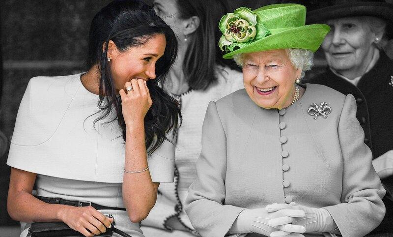 Meghan-Markle-Royals-Queen-Reina-amistad