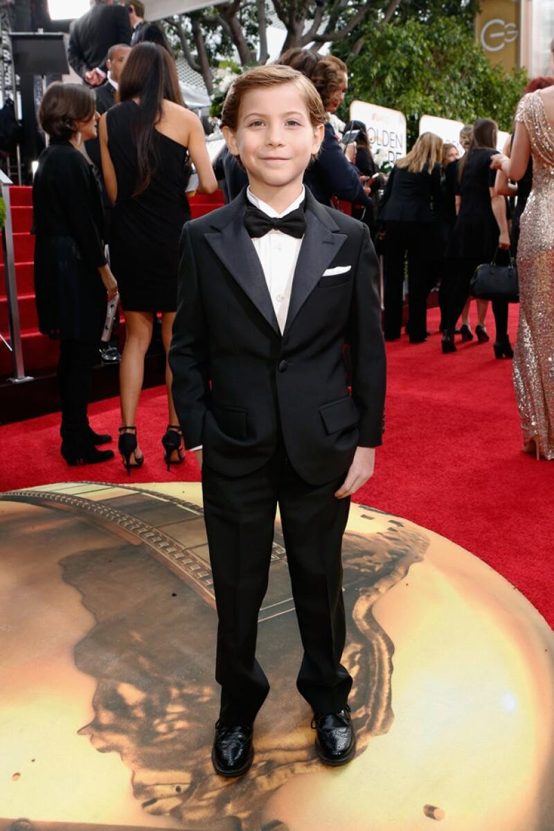 Te presentamos a Jacob Tremblay, quien a sus 9 años conquistó los corazones de los asistentes a la entrega 73 de los premios Golden Globes.