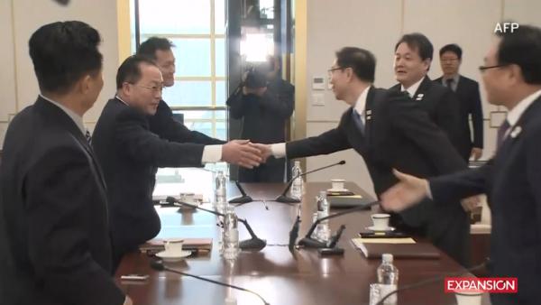 Las Coreas pactan_AFP