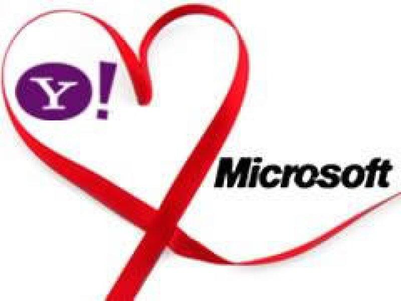 Las acciones de Yahoo se incrementaron 72 centavos desde que se dio a conocer la posible alianza con Microsoft. (Foto: AP)