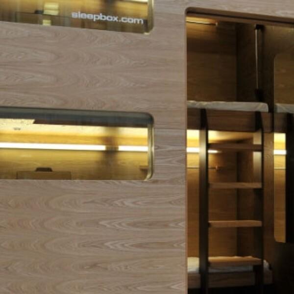 Sleepbox capsulas dormir aeropuertos