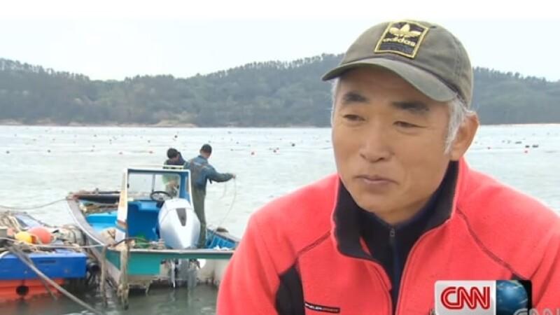 Kim Hyun-ho pescador ferry