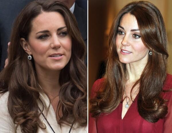 Kate Middleton es famosa por sus outfits y enc cuanto a su pelo prefiere ser discreta.