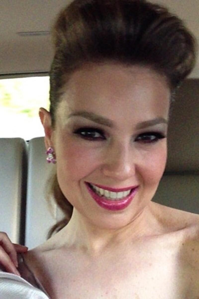 La cantante compartió en su cuenta de Instagram fotos de Nueva York y Miami, donde pasará algunos días. Por cierto, el productor de `La Voz México´ quiere a la mexicana para la tercera temporada.