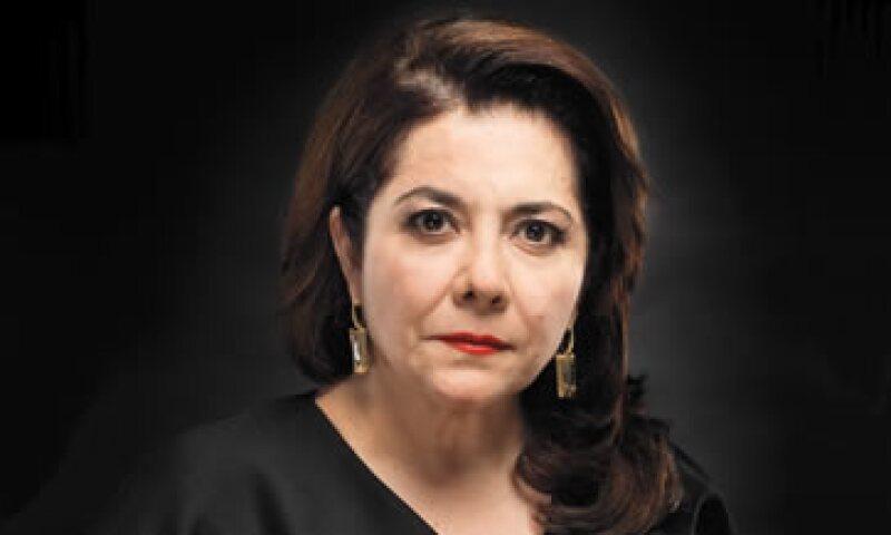 Cintia Angulo es la quinta mujer de negocios con más influencia en México, según el ranking de Las 50 Mujeres más Poderosas de la revista Expansión 2014. (Foto: Jorge Garaiz / Revista Expansión)