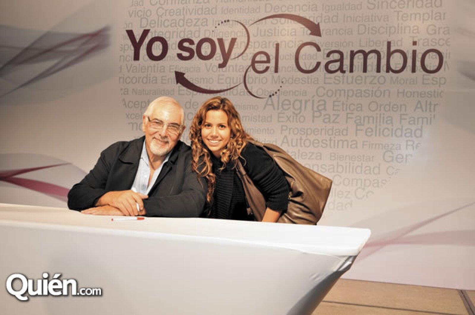 Jorge Bucay y Alejandra Llano