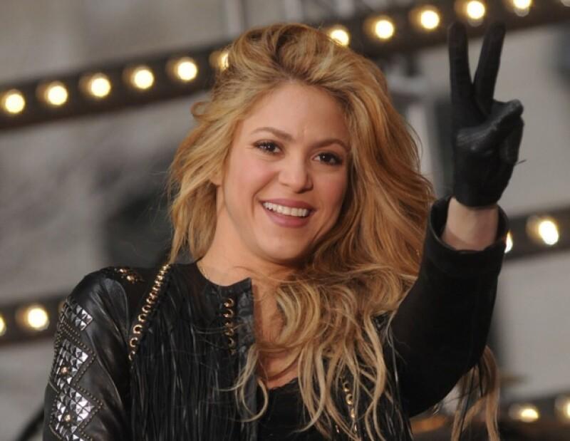 Shakira confesó que nunca pensó llegar a ser una cantante profesional.