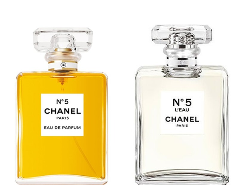 Chanel Nº5 y Chanel L´eau Nº5