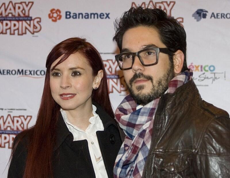Andrea y Pedro Ortiz de Pinedo cumplirán dos años de casados el próximo mes de mayo.