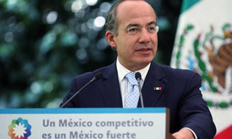 Felipe Calderón aseguró que el Gobierno federal aportará 100 mdp al Fides. (Foto: Cortesía Presidencia de la República)