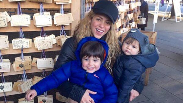 Milan y Sasha: los dos grandes deseos de la cantante colombiana se hicieron realidad.
