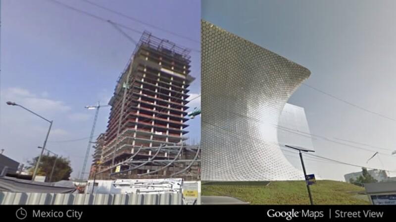 museo soumaya antes y después