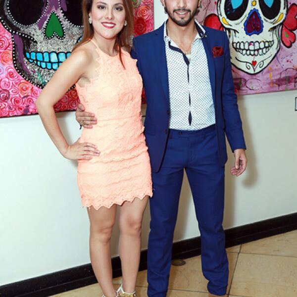 Ana Luisa Villarreal y César Valverde