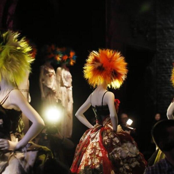El punk celebraba la creatividad sin miedo, afirmó Andrew Bolton, el curador de la exhibición.