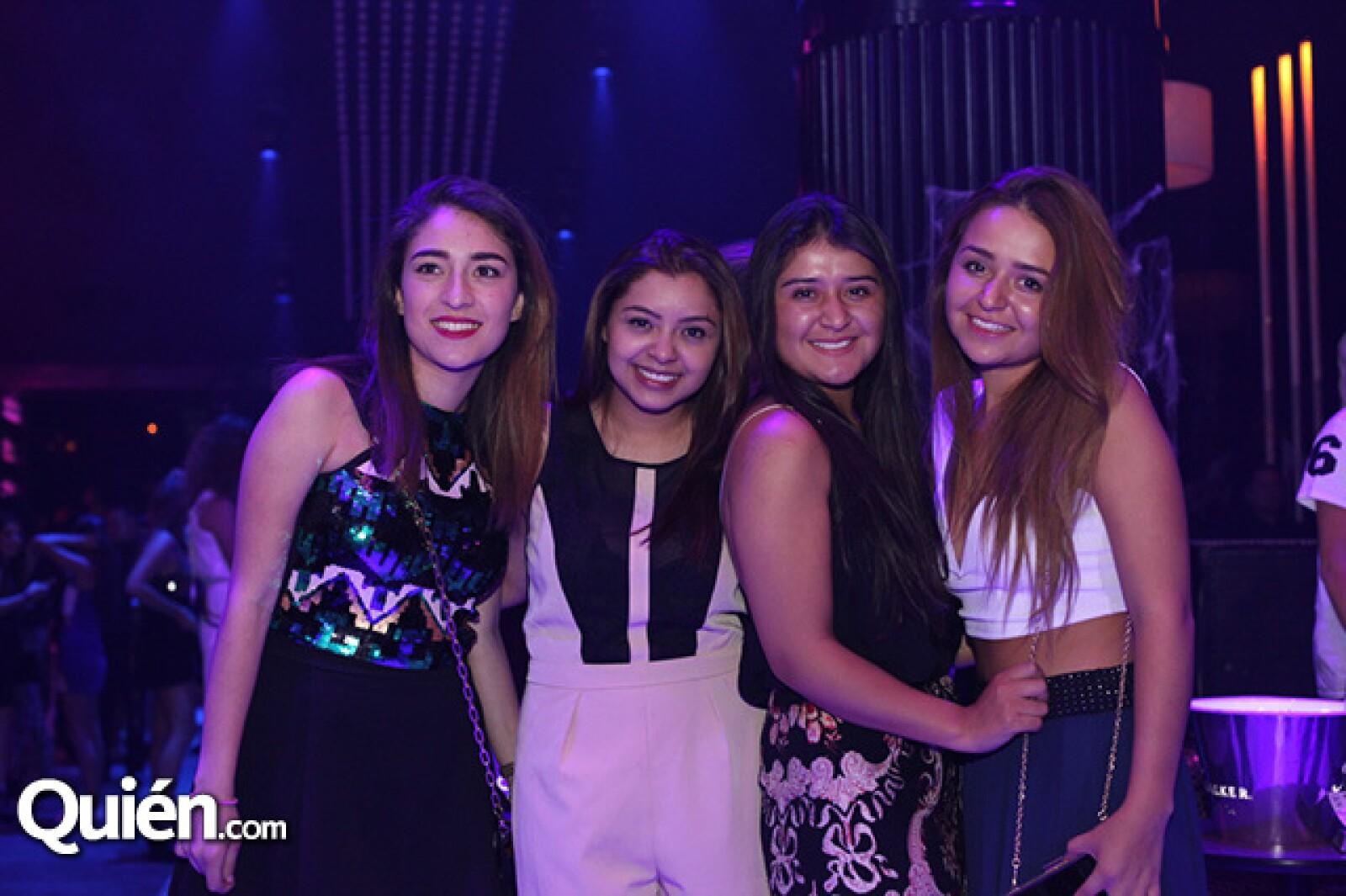 Mariana Acosta,Fer Gallegos,Karen Gómez y Soraya Gómez