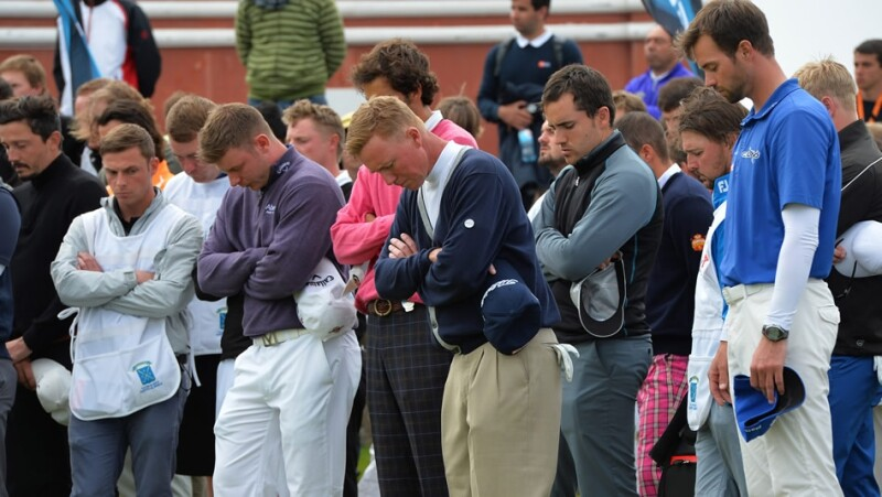 Iain McGregor caddie golf