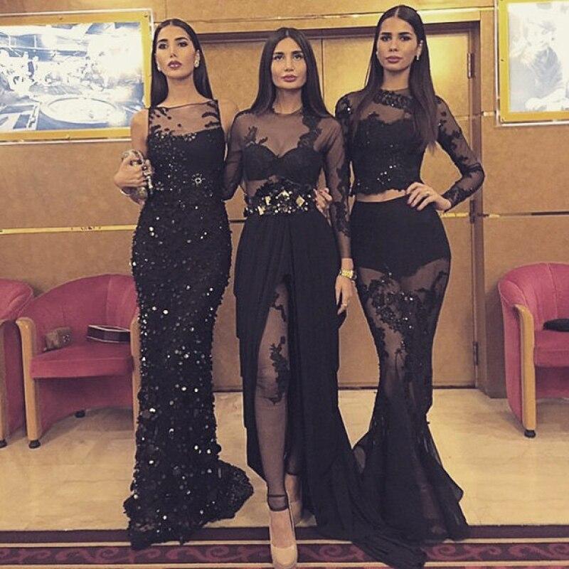 Estas brunnetes, originarias del Líbano, han incursionado en el mundo de los reality shows como The Sisters y éste es… un tanto parecido a Keeping Up With The Kardashian.