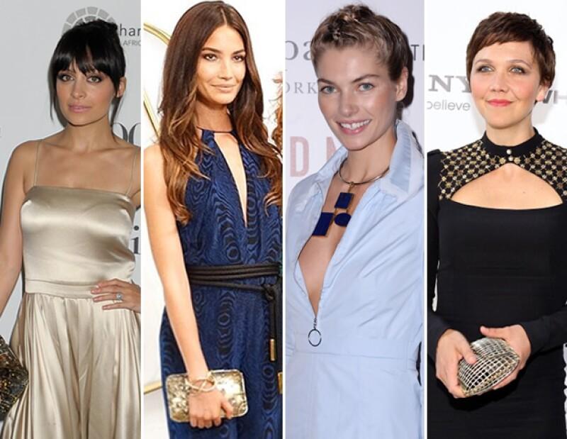 Nicole Richie, Lily Aldridge, Jessica Hart, y Maggie Gyllenhaal con piezas de Anndra Neen.