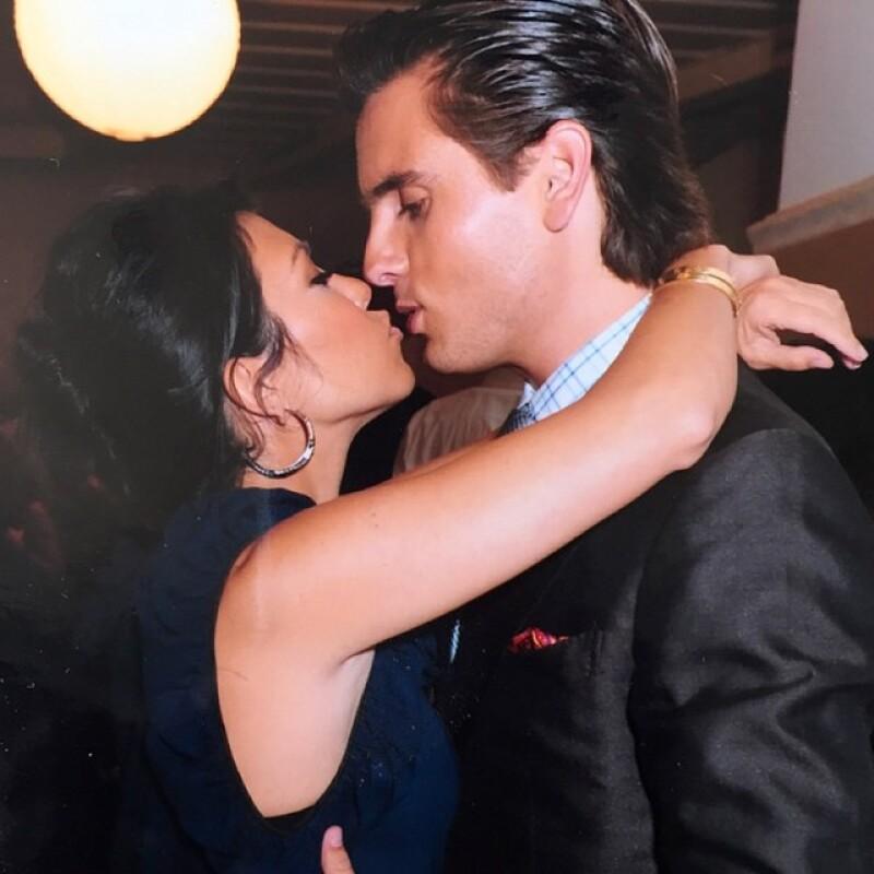 Kourtney y Scott se conocieron en el 2006 y tuvieron una relación de 9 años.