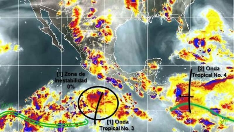 mapa clima miércoles