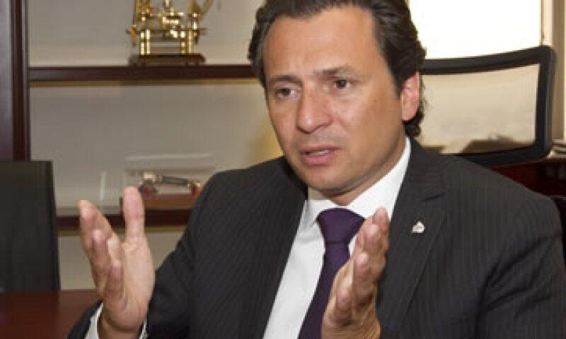 El director general de Pemex, Emilio Lozoya Austin, dijo que los cambios en Pemex no implican que la renta petrolera se entregue a firma extranjeras.   (Foto: Notimex)