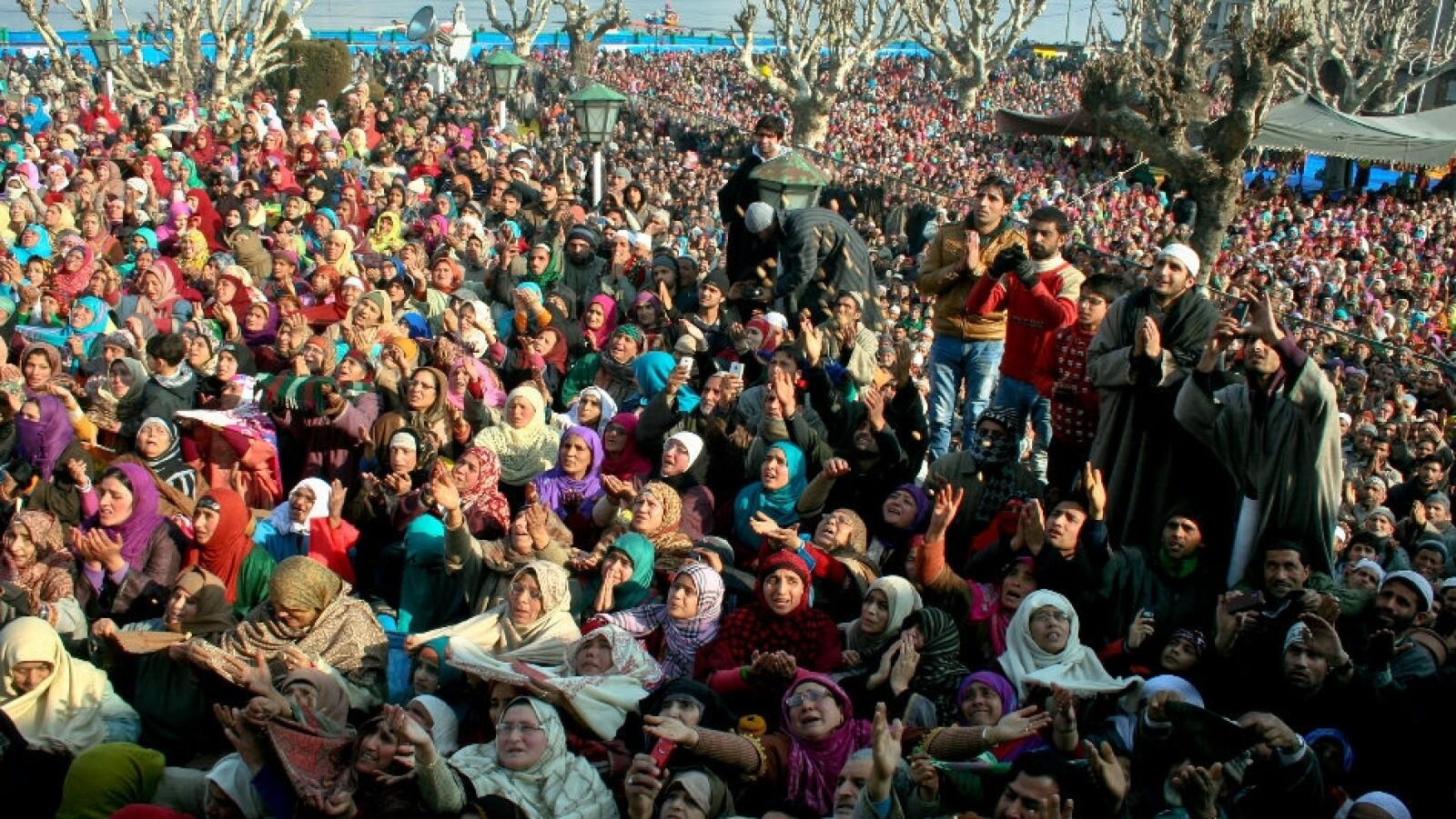 Kashmiri musulmanes mohammed getty