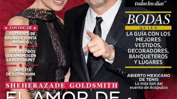 La revista Quién tiene en portada al ganador del Oscar como Mejor director por la película Gravity, acompañado de su inseparable novia. Aquí la historia de amor.